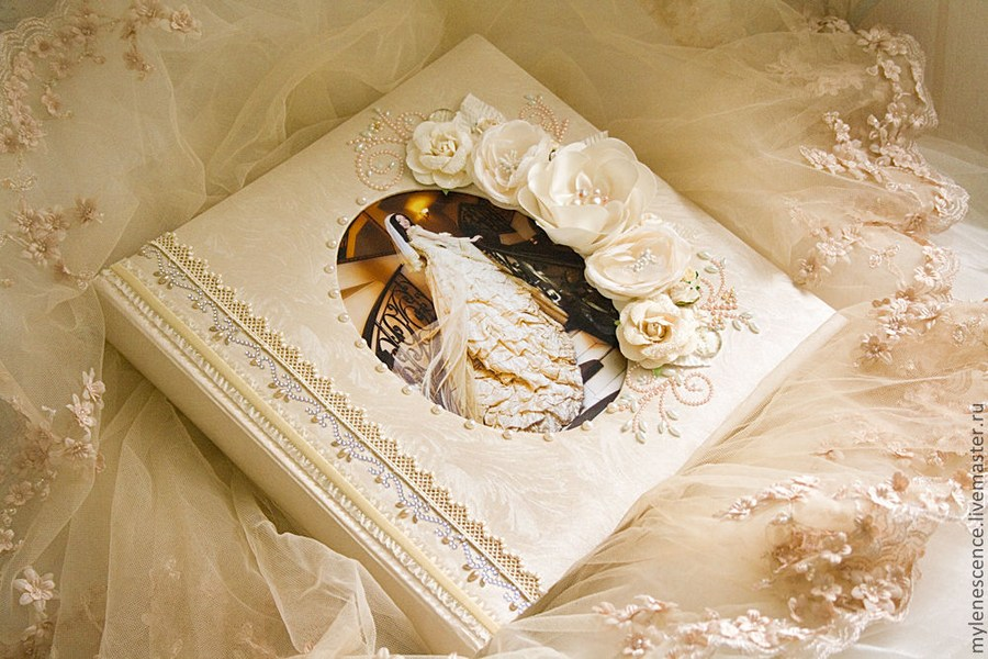 Свадебный альбом своими руками мастер класс