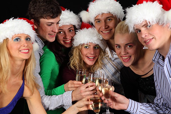 Организация нового года для подростков