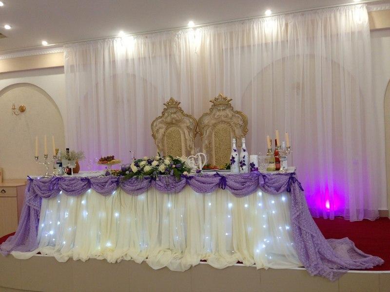 Как украсить банкетный зал для свадьбы своими фото руками 8